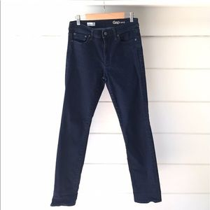 Gap 1969 MidRise Slim Straight Dark Wash Jeans 10R
